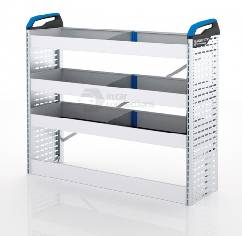 Sortimo Xpress CYOS1 Van Racking for VW Volkswagen Caddy - Driver Side Option 1