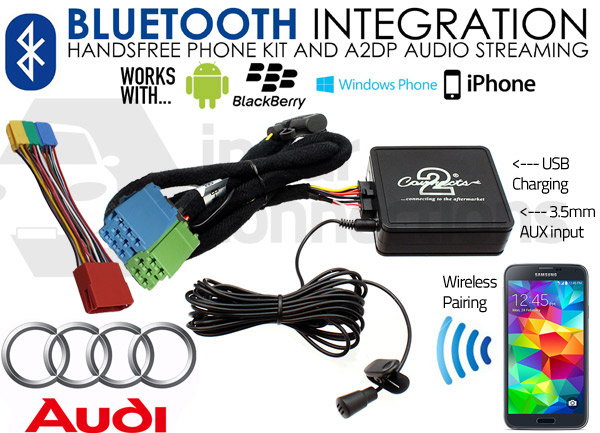 Ctaadbt003 Audi Bluetooth Adapter Interface For Hands Free