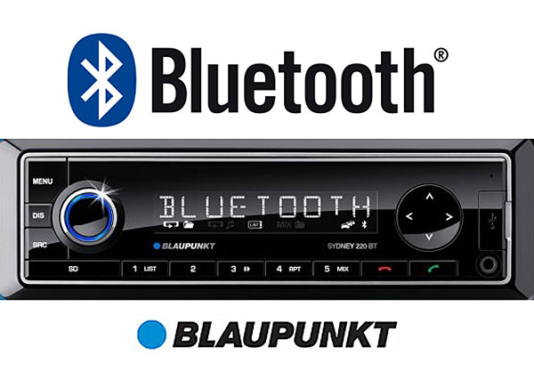 Blaupunkt bluetooth car stereo