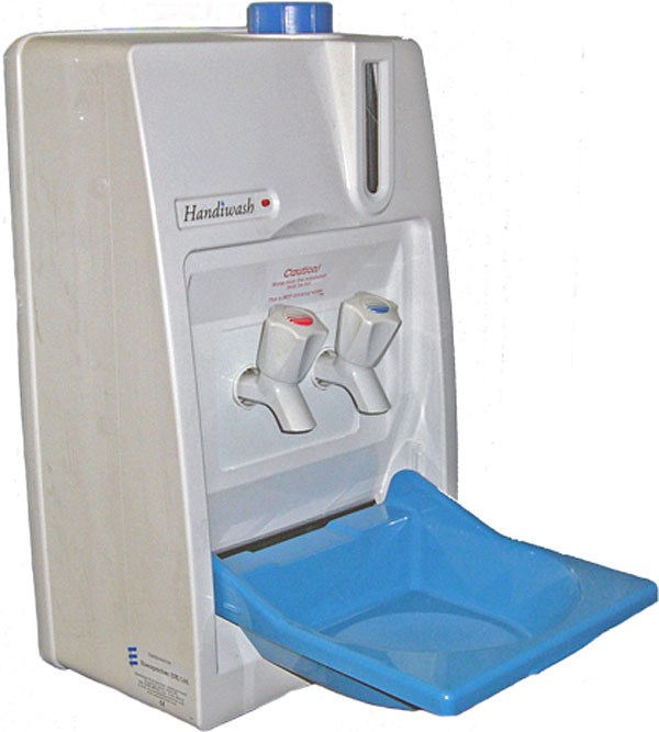 Eberspacher HandiWash Mobile hand wash unit for vans - hot and cold ...