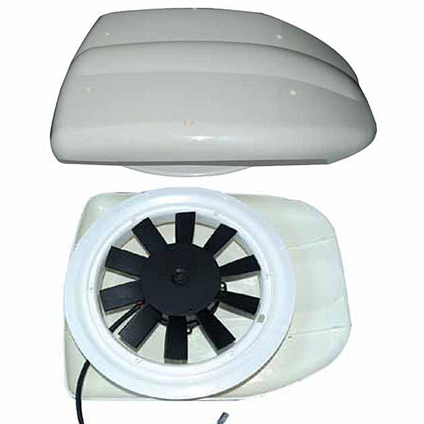Low Profile Motorised Van Roof Fan Ventilator For