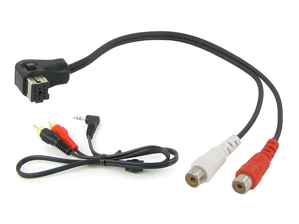 Pioneer car stereo aux input adapter