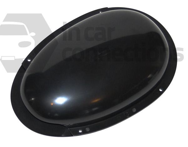 Van Roof Vent Black Plastic Duct Type Low Profile Van