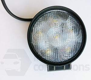 18W Round LED worklamp spotlight 12v 24v for offroad tractor truck van etc