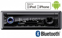 Blaupunkt Brisbane 230 in car radio with USB MP3 AUX inputs, Controls iPod, iPhone and Android