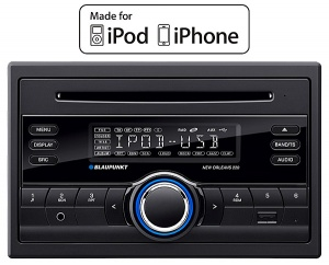 Blaupunkt New Orleans 220 in car radio Double Din with iPod control, CD player USB MP3 and AUX input