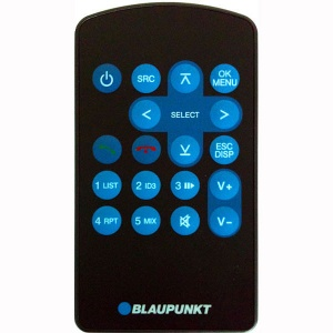 Blaupunkt hand-held remote control for 410 310 210 and 110 models