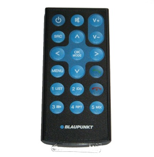Blaupunkt hand-held remote control for 420 320 and 220 models