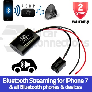 Ford Bluetooth streaming adapter for Focus Fiesta Mondeo C-Max S-Max Transit Fusion Connect with navigation CTAFD2A2DP