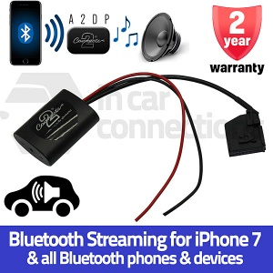 VW Bluetooth streaming adapter for Golf Passat Sharan Touareg Transporter Caddy MFD2 RNS2 CTAVW2A2DP