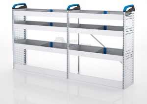 Sortimo Xpress TCLOS1 Racking for Ford Transit Custom, Long Wheel Base - Driver Side Option 1