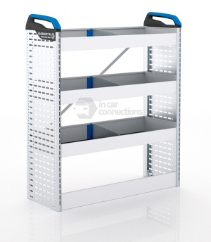 Sortimo Xpress VCSNS1 Van Racking for VW Volkswagen Crafter, Short Wheel Base - Passenger Side Option 1