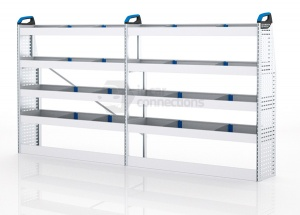 Sortimo Xpress VCMOS1 Van Racking for VW Volkswagen Crafter, Medium Wheel Base - Driver Side Option 1
