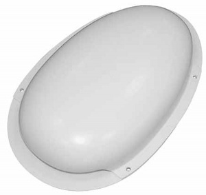 Van roof vent duct type low profile - White