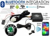 Skoda Bluetooth adapter for streaming and hands free calls CTASKBT003 Quadlock