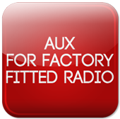 Aux Input Adapters for factory fitted radios