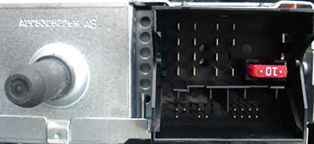BMW Quadlock CD changer connection CTVBMX003