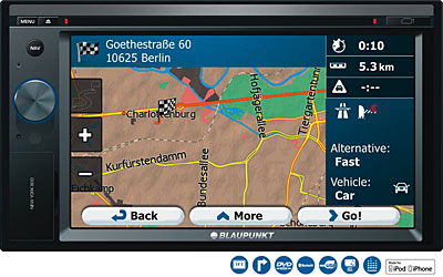 Blaupunkt New York 835 Sat Nav
