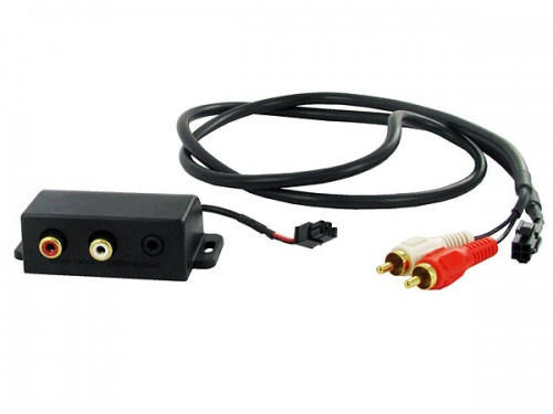 AUX mounting box - RCA to 3.5mm jack CT29AX05