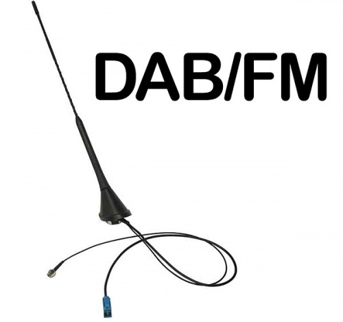 In car DAB AM FM aerial Bee Sting Roof Mounted antenna CT27UV61 AutoDAB AD-11