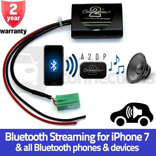 Renault Bluetooth streaming adapter for Megane Clio Scenic Twingo Laguna Kangoo Espace Trafic CTARN1A2DP