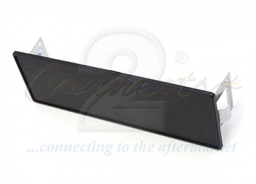 Car stereo fascia blanking panel with side clips CT24UV15