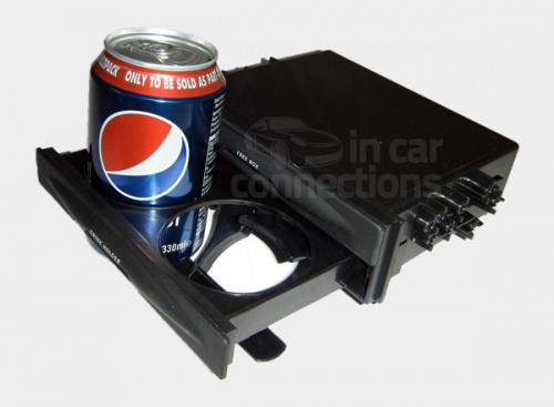 Car stereo fascia tray pocket with drinks holder CT24UV20
