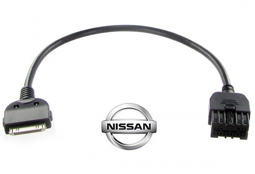 Nissan iPod cable for 2009 onwards Altima Cube Juke Maxima Murano Sentra CT29IP15