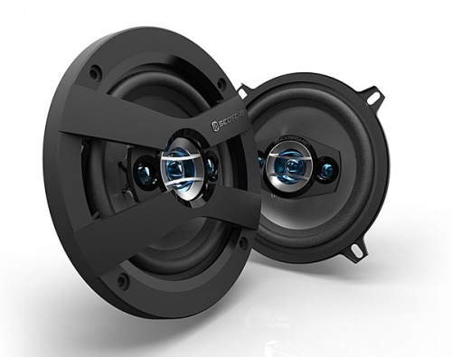 Scosche HD5254 5'' inch 13cm 130mm in car speakers 3 way triaxial 160W