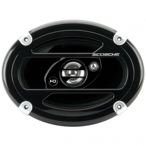 Scosche HD6903A 6 x 9 inch in car speakers 3 way triaxial 300W