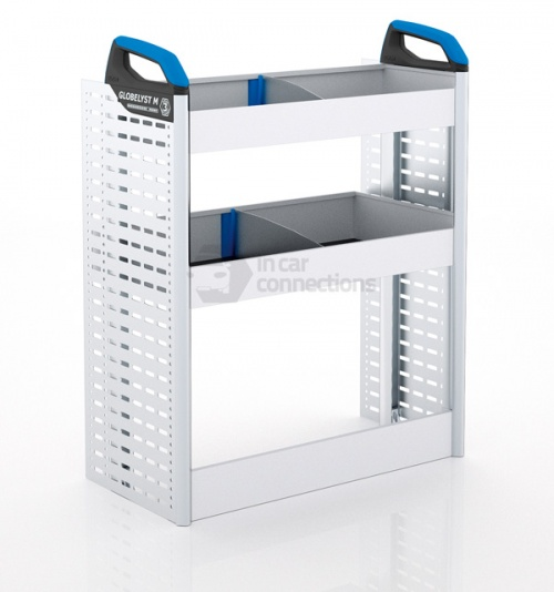 Sortimo Xpress FCLNS1 Van Racking for Ford Transit Connect, Long Wheel Base - Passenger Side Option 1