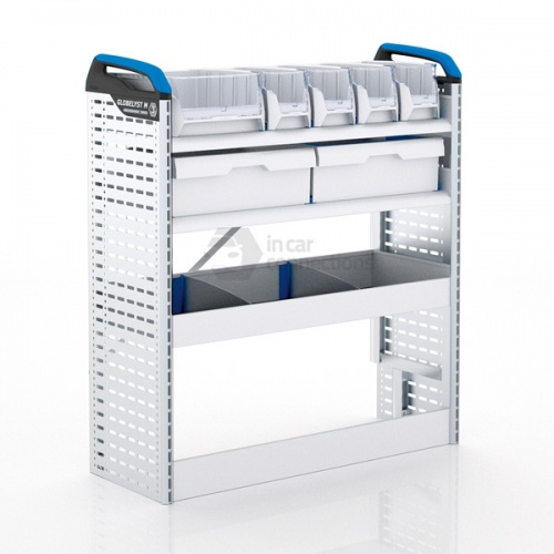 Sortimo Xpress TCSNS2 Racking for Ford Transit Custom, Short Wheel Base - Passenger Side Option 2