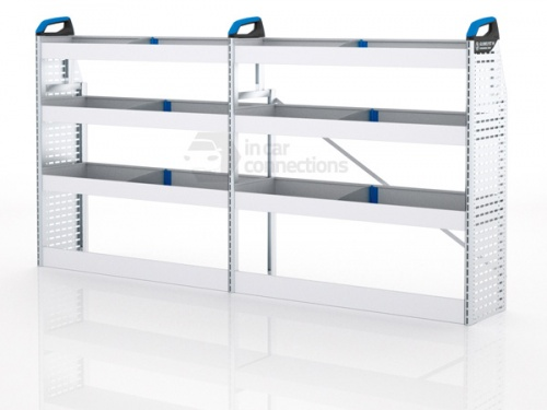 Sortimo Xpress TPLOS1 Van Racking for VW Volkswagen Transporter T5, Long Wheel Base - Driver Side Option 1