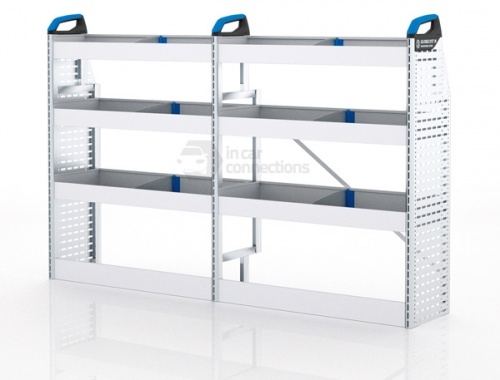 Sortimo Xpress TPSOS1 Van Racking for VW Volkswagen Transporter T5, Short Wheel Base - Driver Side Option 1