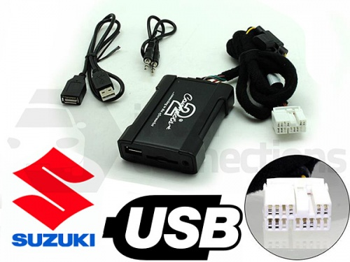 Suzuki USB adapter CTASZUSB001 for Suzuki Swift Grand Vitara SX4 and Jimny II