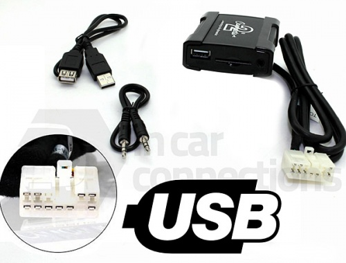 Toyota USB adapter CTATYUSB001 for Toyota Avensis Corolla and RAV4