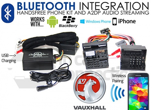 Vauxhall Bluetooth adapter for streaming and hands free calls CTAVXBT001