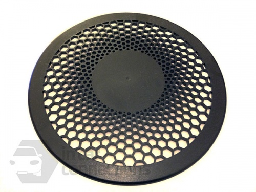 Black inner grille for motorised van ventilator for vans