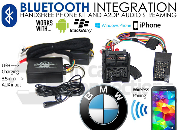 bmw calls for and series streaming adapter bluetooth interface