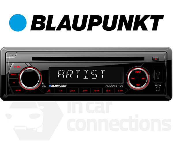 Blaupunkt Alicante 170 In Car Radio With Cd Player Usb Input Mp3 Aux Rhincarconnectionscouk: Car Radio Cd At Gmaili.net