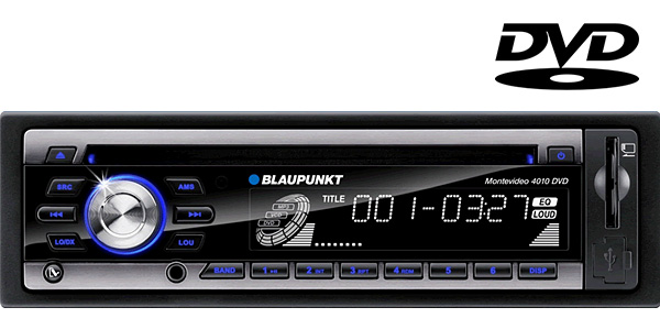 blaupunkt montevideo 4010 in car dvd and cd player with am. Black Bedroom Furniture Sets. Home Design Ideas