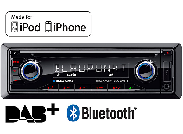 Blaupunkt Stockholm 370 Dab Bt In Car Radio Bluetooth Ready With Cd Rhincarconnectionscouk: Car Radio Cd At Gmaili.net