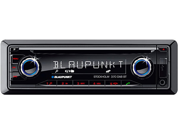 blaupunkt stockholm 370 dab bt in car radio bluetooth. Black Bedroom Furniture Sets. Home Design Ideas