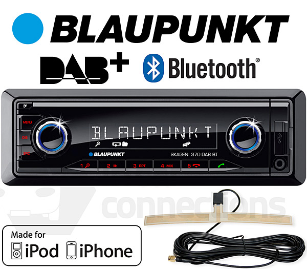 Blaupunkt Skagen 370 Dab Bt In Car Radio With Bluetooth