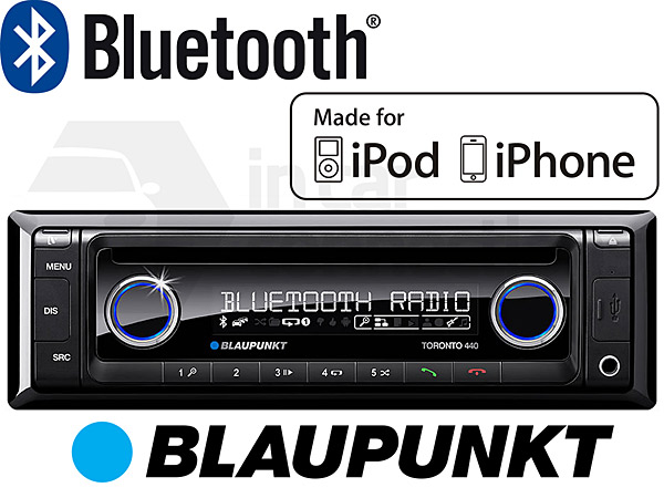 Blaupunkt New Orleans 220 in car radio Double Din with iPod control