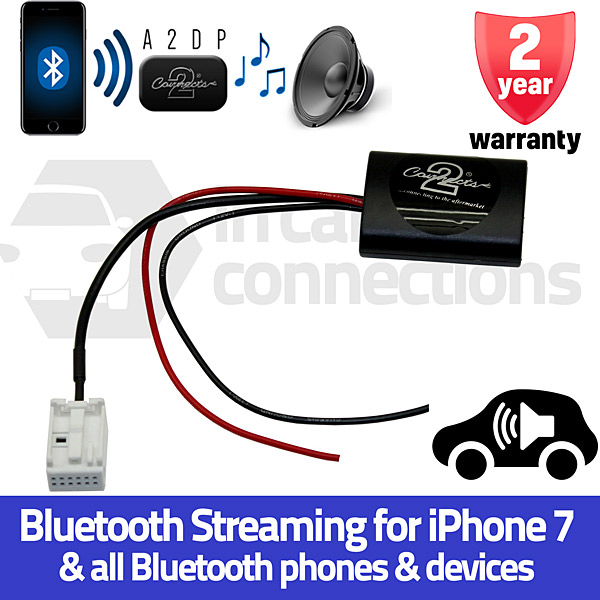 Ctact1a2dp Citroen Bluetooth Streaming Adapter For Citroen C2 C3 C4 C5 C6 C8 Berlingo Jumpy
