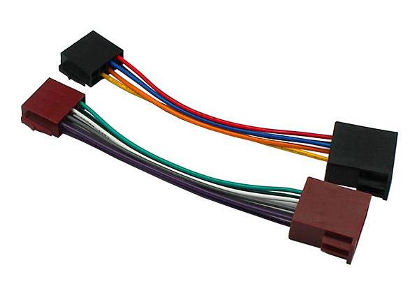 Automotive Wiring Harness Uk : Car stereo universal iso to wiring loom harness lead