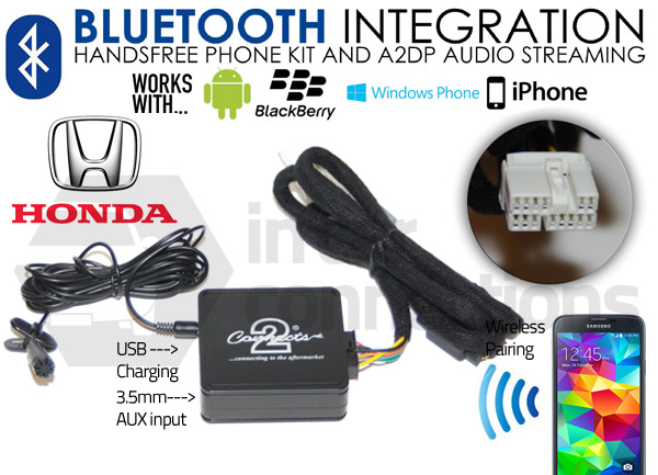Honda Bluetooth Adapter For Streaming And Hands Free Calls
