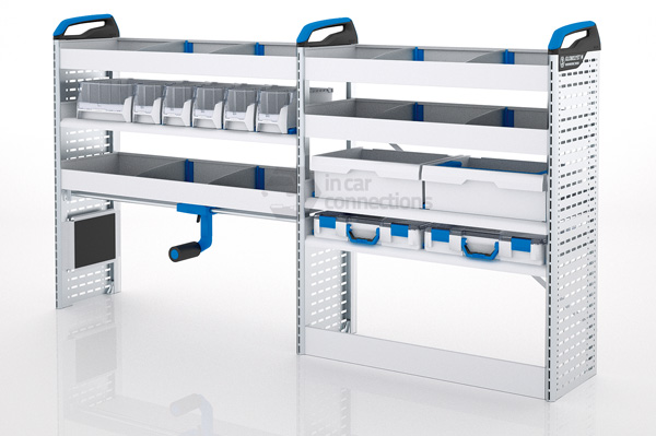 Sortimo Xpress Tclos2 Van Racking Module Racking For