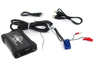 Audi USB adapter CTAADUSB004 for Audi A2 A3 A4 TT with Quadlock